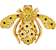Joan Rivers Black Eyed Susan Bee Pin - J353457