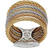 ALOR Stainless Steel Multi-Row Ring - J354557