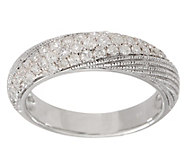 Diamond Band Ring, Sterling, 4/10 cttw, by Affinity - J355057