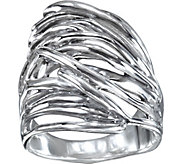 Hagit Sterling Silver Wave Ring - J376357