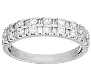 Round & Baguette Diamond Ring 14K 1/2 cttw by Affinity - J52957