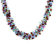 250.00 ct tw Multi-Gemstone Exotic Sterling Necklace - J289058