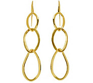 Arte dOro Polished & Satin-Finish Triple Dangle Earrings, 18 - J310058