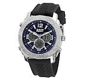 Wrist Armor Mens U.S. Navy C21 Watch Black & Blue Watch - J316358