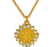 My Saint My Hero Brilliance Crystal Necklace - J333058