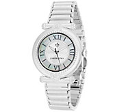 Judith Ripka Stainless Steel Avignon Watch - J335858