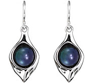 Hagit Sterling with Cultured Freshwater Pearl Dangle Earrings - J376758
