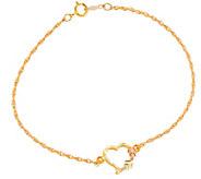 Black Hills Heart Bracelet 10K/12K - J377458