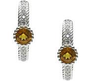 Judith Ripka Sterling Silver Gemstone Earrings - J379958