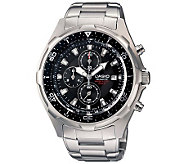Casio Mens Ana-Digi Dive Stainless Strap Watch - J106959