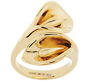 Stainless Steel Calla Lily Wrap Design Ring - J293659
