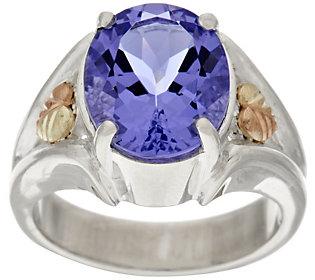 Product image of Black Hills Sterling Bold Helenite Ring, 12K