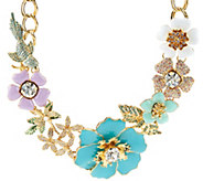 Joan Rivers Limited Edition Garden Fantasy Statement Necklace - J318659