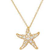 The Elizabeth Taylor Starfish Necklace - J323359