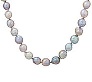 Honora Gray Ming Cultured Pearl Sterling 18 Necklace - J335859