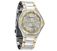 Armitron Mens Two-Tone Dress Watch - J338759