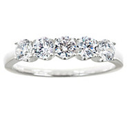 5-Stone Diamond Band Ring, 14K Gold, 1.00 cttw,by Affinity - J341359