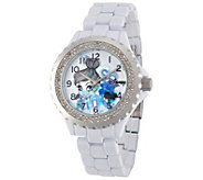 Disney Tinker Bell Womens Enamel Watch - J342259