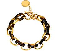 Stainless Steel 7-1/2 Rolo Link Bracelet - J342759