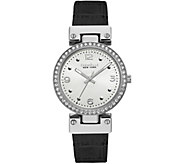 Caravelle New York Womens Reversible Leather Watch - J375959