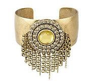 Multi-Chain Fringe Cuff Bracelet - J261760