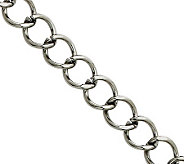 Stainless Steel 22 Curb Chain Necklace - J308460