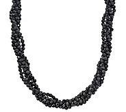 Barbara Bixby Sterling 5-Strand Faceted OnyxTorsade - J309060