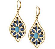 Joan Rivers Moroccan Flair Lever Back Earrings - J318360