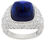 The Elizabeth Taylor 4.35 cttw Simulated Sapphire Ring