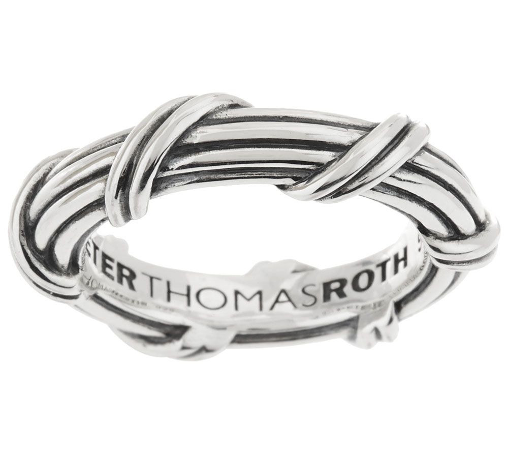 Peter Thomas Roth Sterling Signature Classic Band Ring