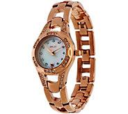 Relic Rosetone Stainless Steel Bracelet Watch - Charlotte - J335160