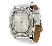 As Is Joan Rivers All That Shimmers Croco Pattern Strap Watch - J276761