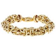 Arte dOro Byzantine 7-1/4 SmartClasp Bracelet18K, 17.5g - J299561