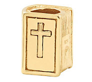 Prerogatives 14K Yellow Gold-Plated Sterling Bible Bead - J302861
