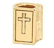 Prerogatives 14K Yellow Gold-Plated Sterling Bible Bead - J302861
