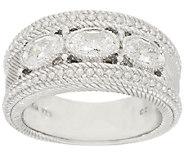 Judith Ripka Sterling 1.50 ct tw Bezel Set Diamonique Ring - J317761