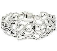 Hagit Sterling Silver Ribbons Bracelet, 30.0g - J320161