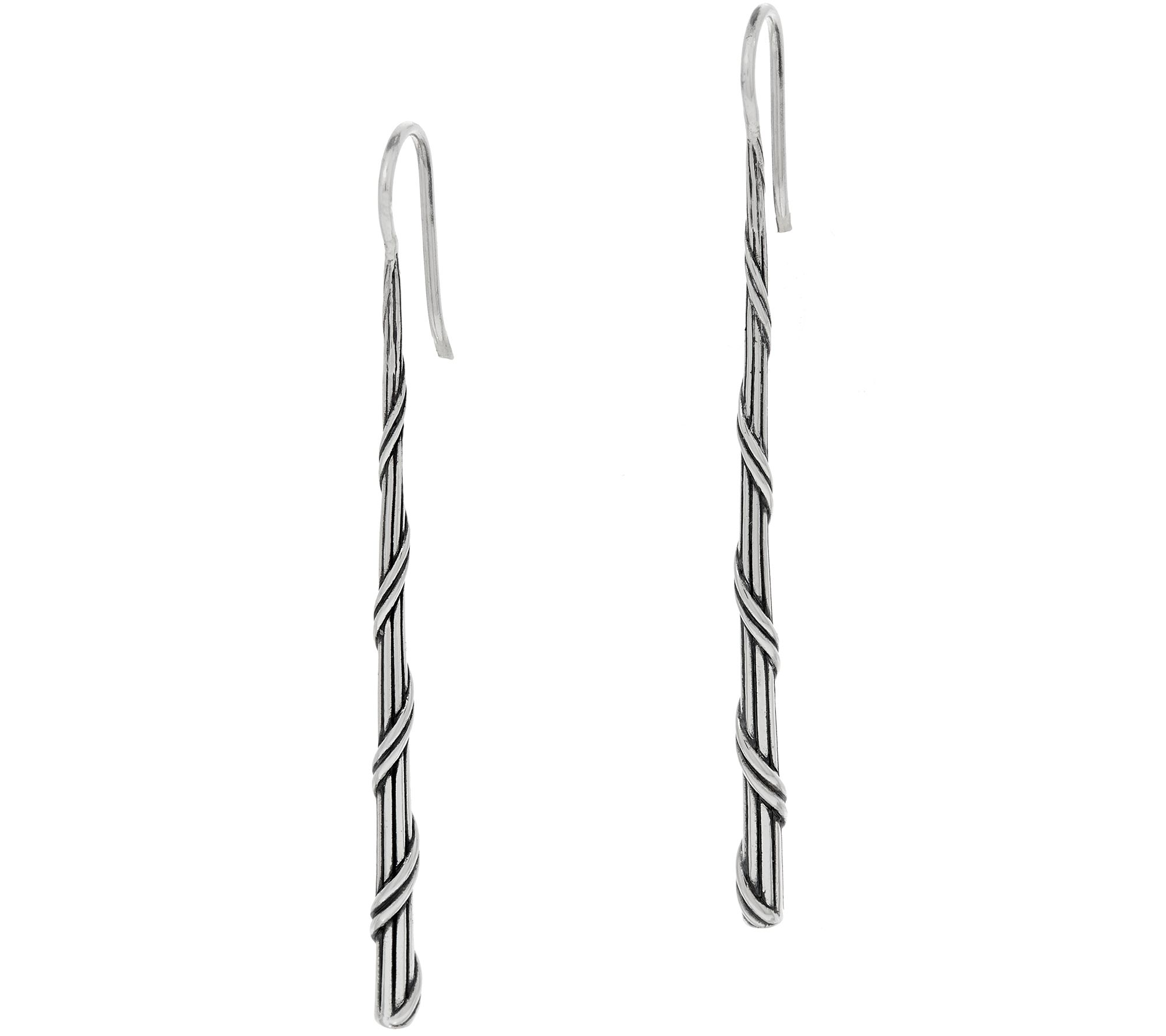 Peter Thomas Roth Sterling Signature Romance Stick Earrings