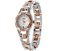 Relic Stainless Steel & Rosetone Bracelet Watch - Charlotte - J335161