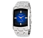 Armitron Mens Crystal Accent Blue Degrade DialDress Watch - J338761