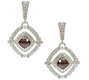 Judith Ripka Sterling Diamonique & Doublet DropEarrings - J340861
