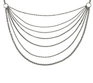 Steel by Design Multi-Chains 33-1/2 Necklace - J343161