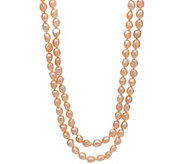 Honora Cultured Pearl 8.0mm Baroque 50 Necklace Sterling Silver - J348361