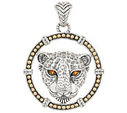 JAI Sterling Silver & 14K Gold & Gemstone Leo Enhancer, 19.8g - J354961