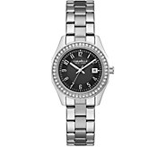 Caravelle New York Petite Stainless Crystal Watch - J375961