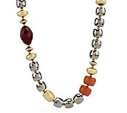 Linea by Louis DellOlio Multi-facet Bead Necklace - J271862