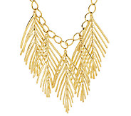 Linea by Louis DellOlio Palm Leaf Necklace - J290362