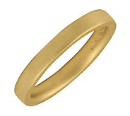 Simply Stacks Sterling 18K Yellow Gold-Plated 3.25mm Ring - J298962