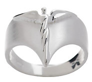 Sterling Satin Finish Petite Angel Ring by Steven Lavaggi - J314862