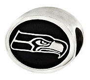 Sterling Seattle Seahawks NFL Bead - J315162